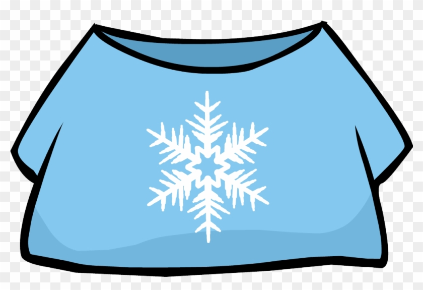 Roblox And Club Penguin - Image Snowflake Tshirt Png Club Penguin Wiki Girls T