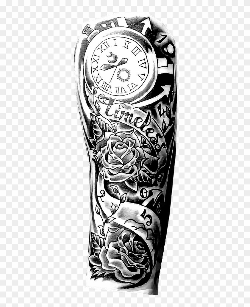 timeless #sleeve #arm #hand #body #b&w #blackandwhite - Tattoo Arm ...