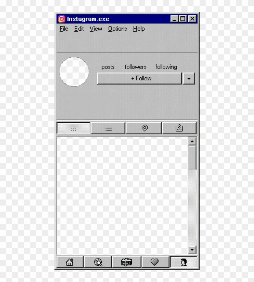 Iphone 6 Windows 98, HD Png Download - 480x853(#3599501