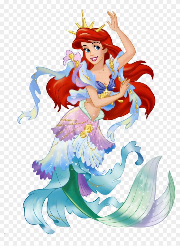 High Resolution Ariel Mermaid Png