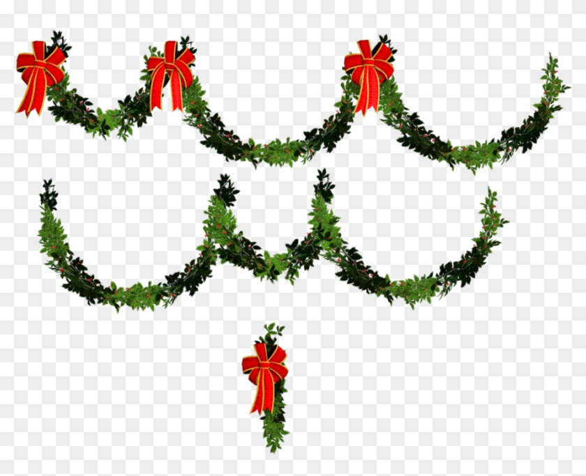 Christmas Day Clipart.Transparent Christmas Garland Clipart Gallery Holiday