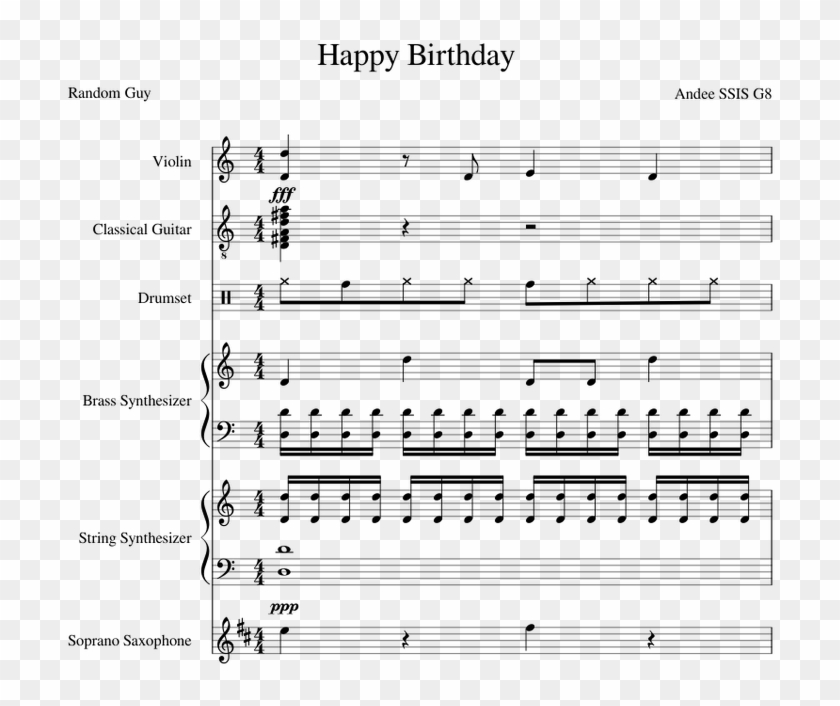 Happy birthday piano