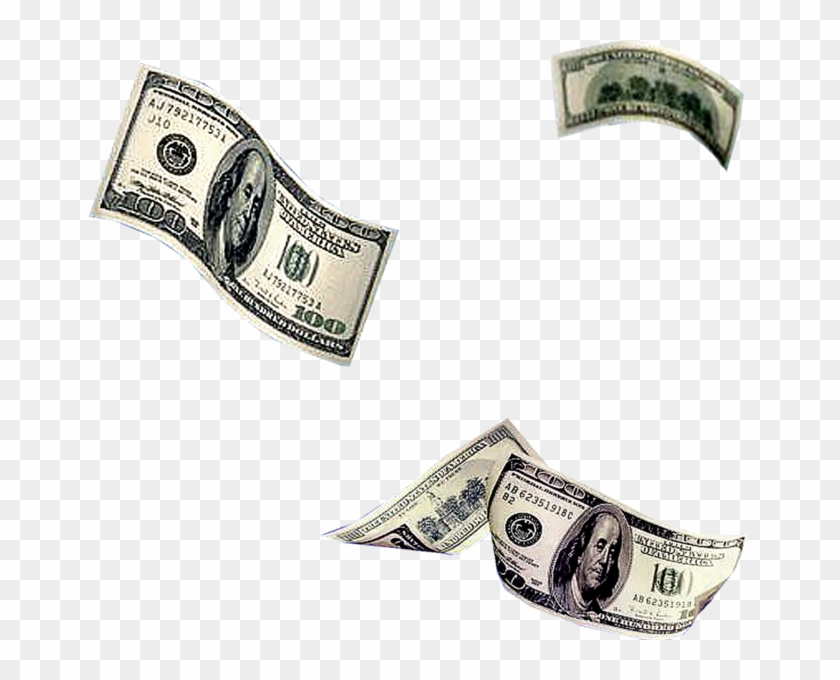100s Falling - Transparent Falling Money, HD Png Download ...