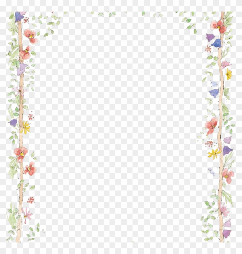 Spring Clipart Borders 19 Spring Graphic Library Borders Flower Border Free Hd Png Download 1024x1024 3665406 Pngfind