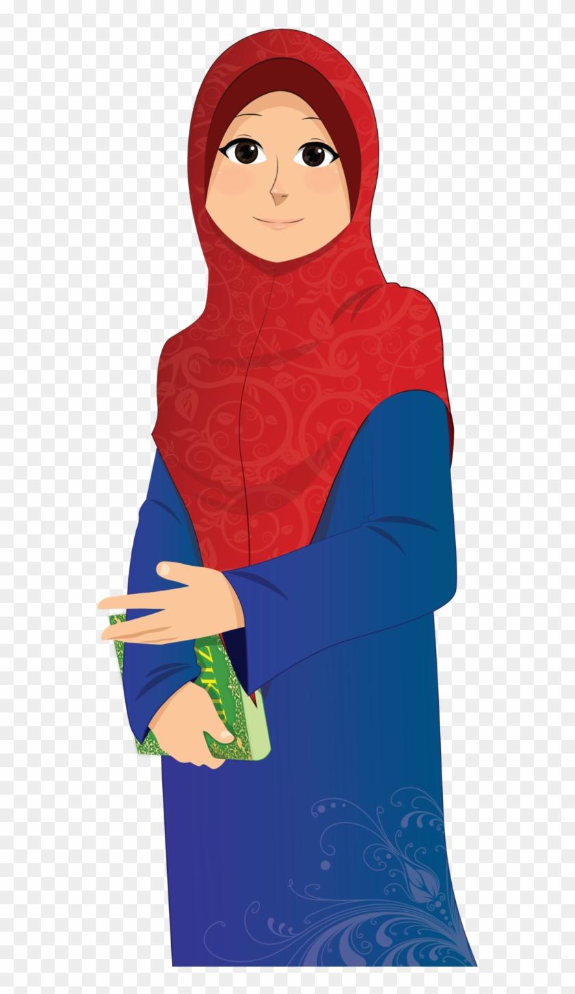 Png muslimah islamic girl transparent png
