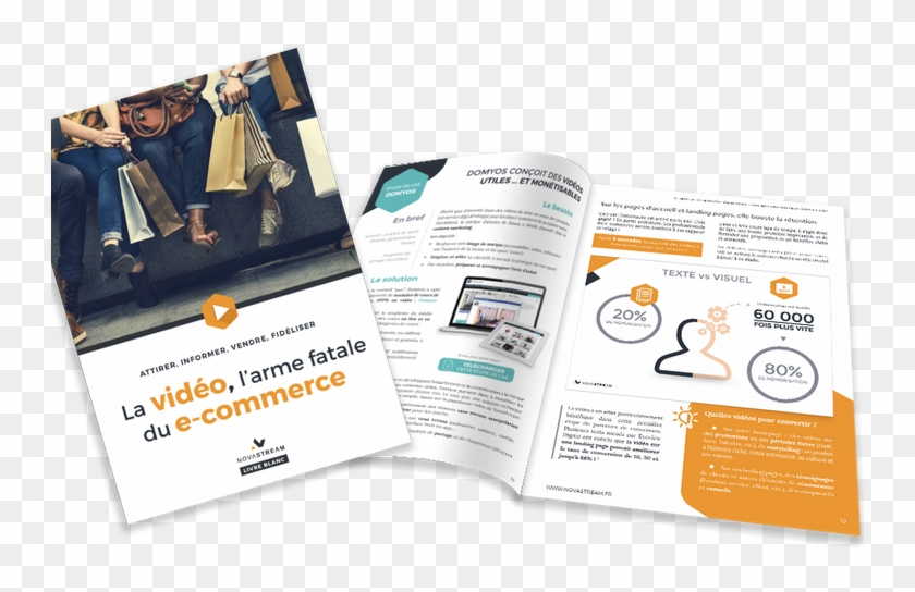 Video Ecommerce Livre Blanc Flyer Hd Png Download