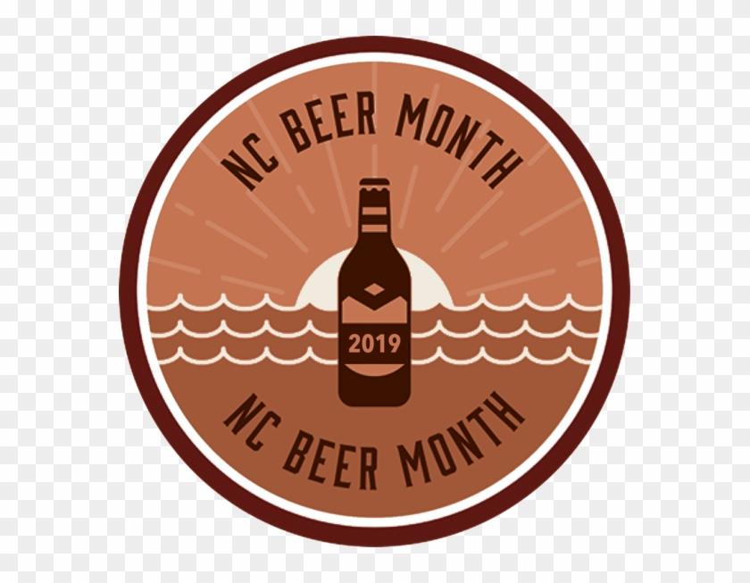 2019 Nc Beer Month Coast Badge Beer Bottle Hd Png Download 573x573 3691450 Pngfind