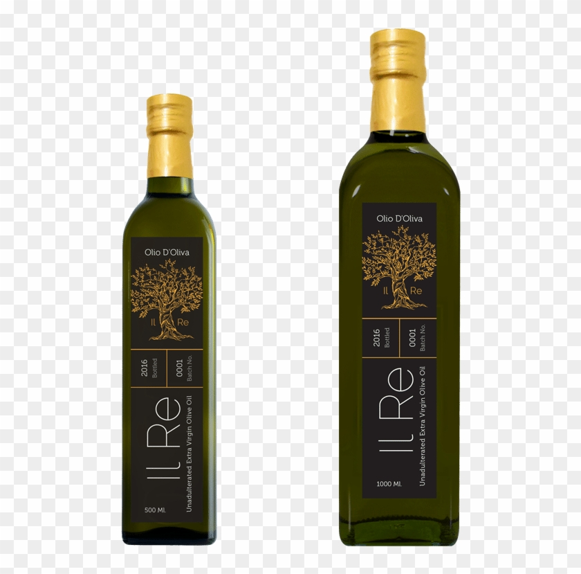 Il Rey Olive Oil Product Image - Glass Bottle, HD Png Download