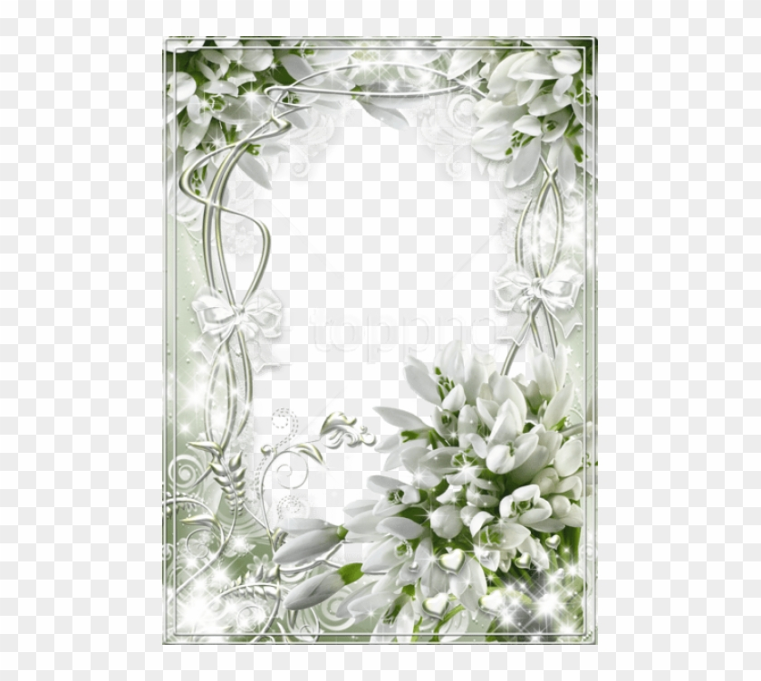 Free Png Beautiful White Soft Transparent Frame With Wedding Frames Transparent Background Png Download 481x672 3695557 Pngfind