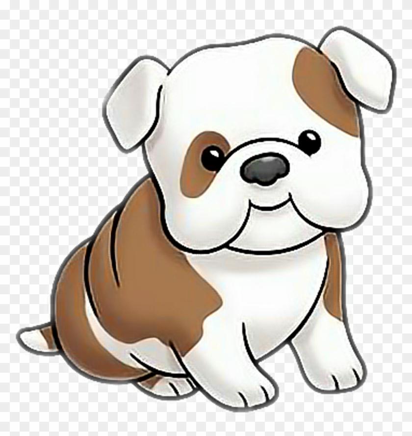 Dog Bulldog Puppy Cartoon Cute Dog Clipart Hd Png Download 1024x1035 3696233 Pngfind