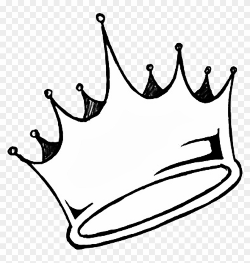 Transparent Crown Tumblr Sticker Aesthetic White Queen Graffiti Crown Drawing Hd Png Download 1024x1032 372480 Pngfind