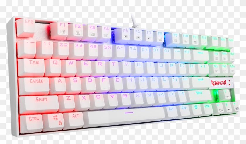 2e2c57b84cd Redragon K552w-rgb Gaming Mechanical Compact Usb Keyboard - Redragon Kumara  K552 Rgb White,