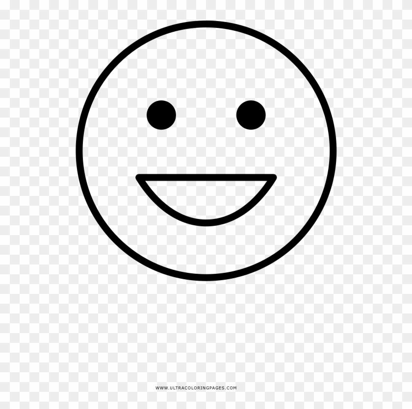 Cara Feliz Página Para Colorear Smiley Hd Png Download