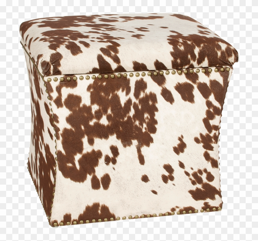 Moo Ottoman Cowhide Stools Ikea Hd Png Download 980x811
