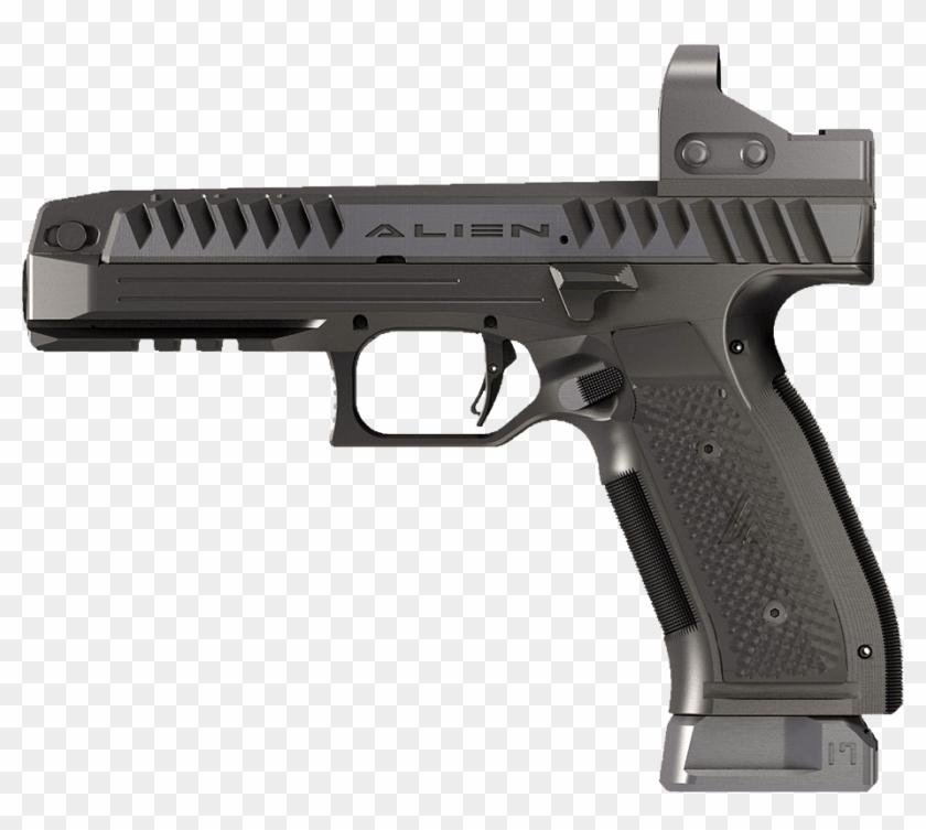 Alien Pistol - Side - Glock Gen 5 Long Slide, HD Png