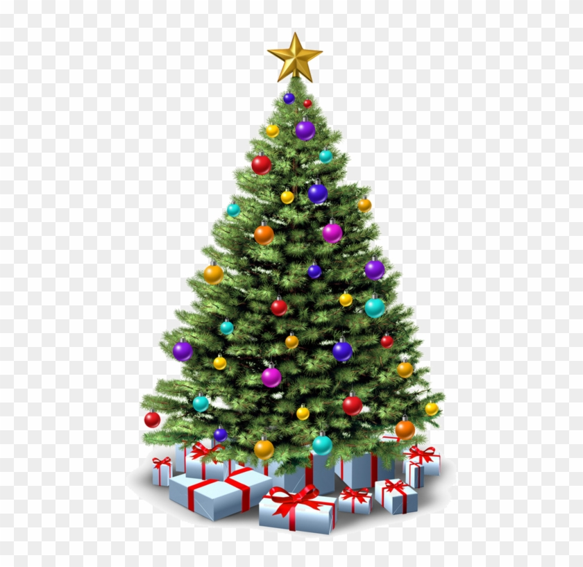 Sapinde Noel Sapin De Noel Png   Christmas Trees With Presents, Transparent Png