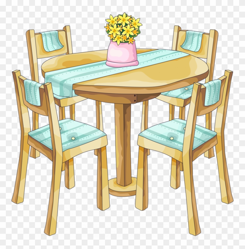 Excellent Clipart Dining Table Bg Dining Room Png Clipart Download Free Architecture Designs Scobabritishbridgeorg