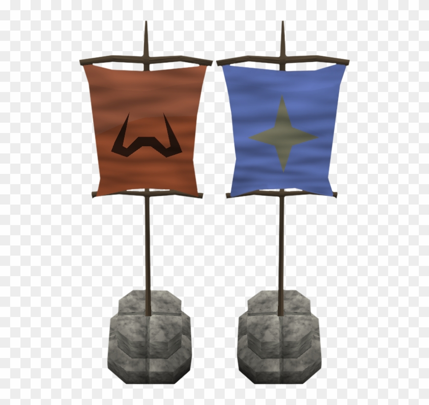 Castle Wars Flags Old Runescape Castle Wars Flag Hd Png Download