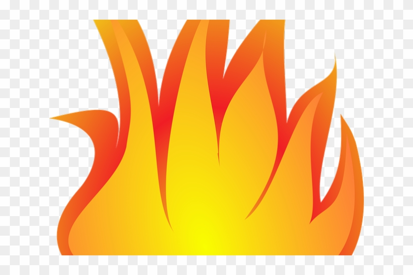 Fire emoji 5 flame. Flames clipart yellow hd