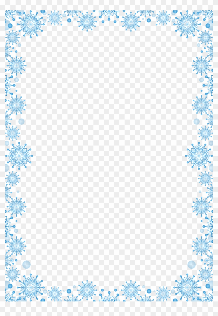 Holidays,picture Frame,photo Decoration,free - Snowflake