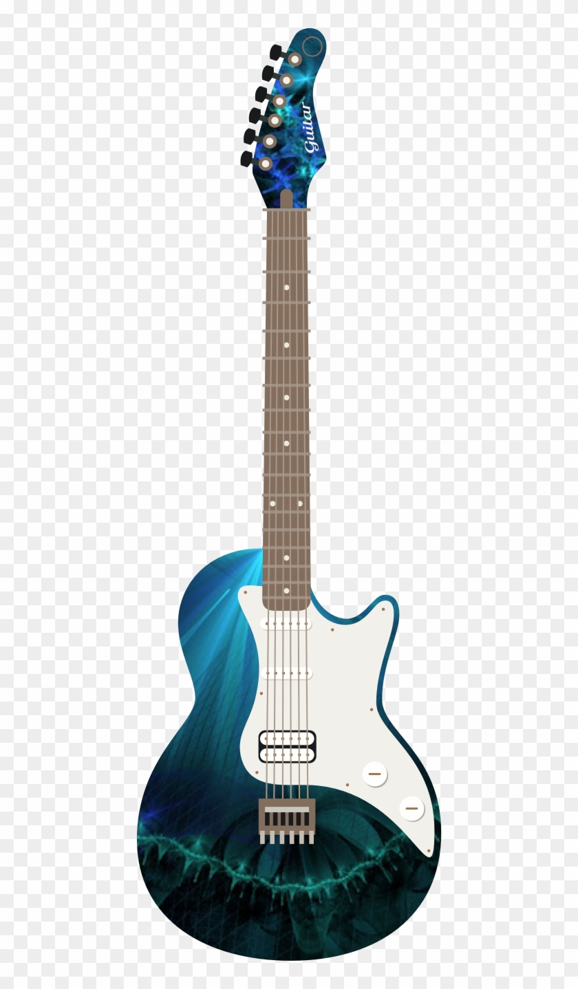 Fractal Love Electric Guitar Hd Png Download 444x1358 3748437 Pngfind
