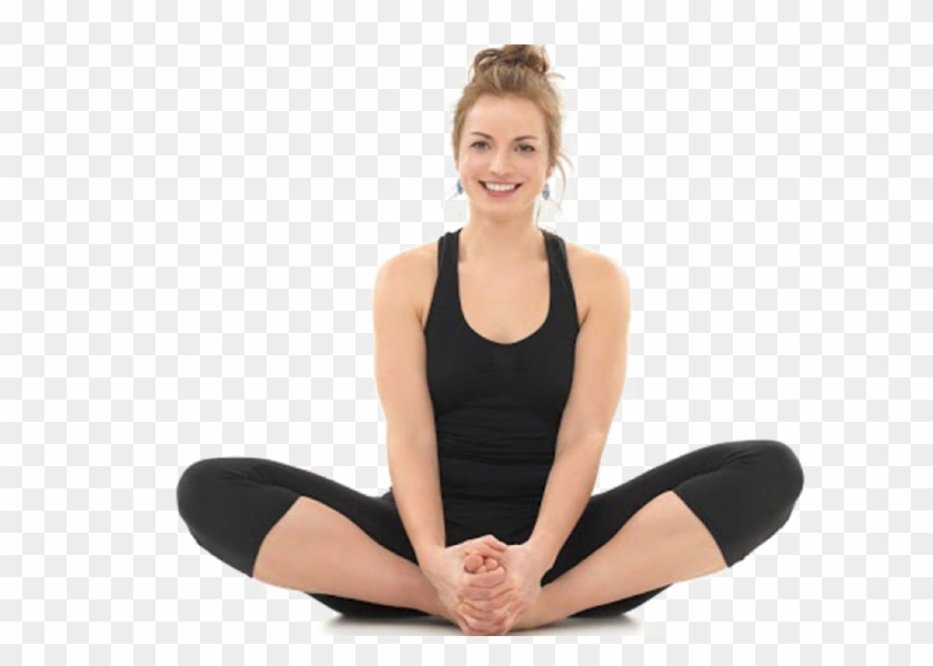 Yoga Pose Png Hd Quality Butterfly Yoga Pose Transparent Png 975x650 3759553 Pngfind