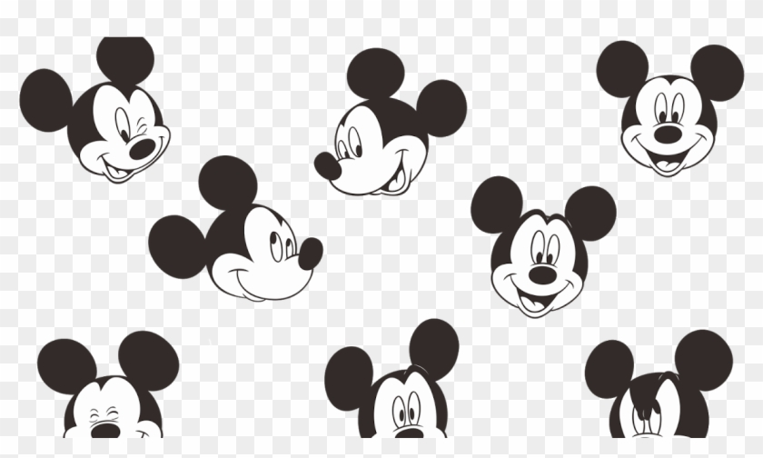 Mickey Mouse Logo Vector Mickey Mouse Face Small Hd Png