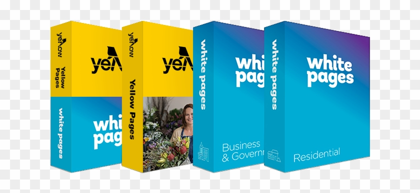 Image Showing The Different Books - White Pages Phone Book Australia