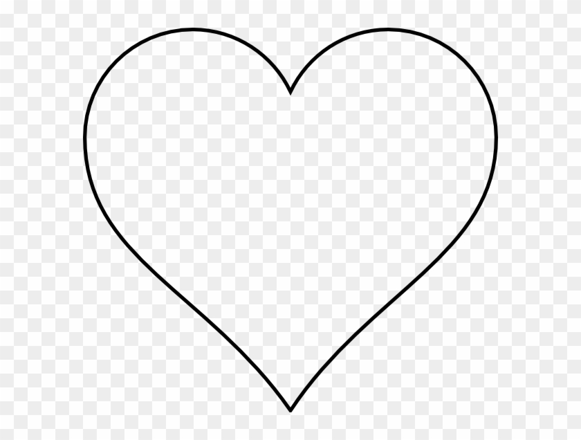 Heart With Transparent Background Clip Art At Clker White Heart