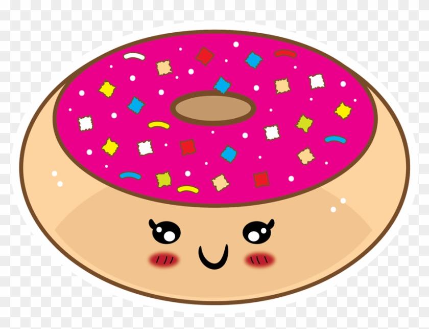 Donut cartoon. Clipart doughnut cake clip