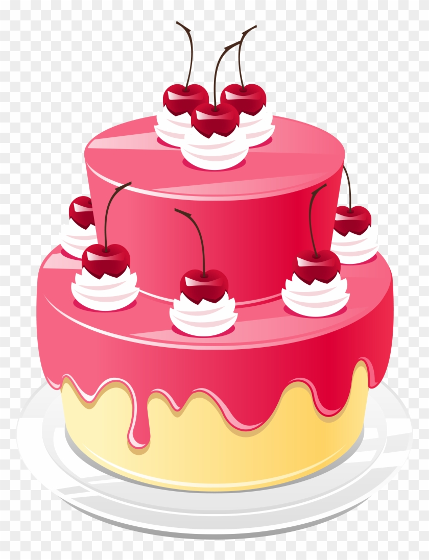 Astonishing Download Hd Elegant Images Of Birthday Cakes Png Cake Pink Funny Birthday Cards Online Aboleapandamsfinfo
