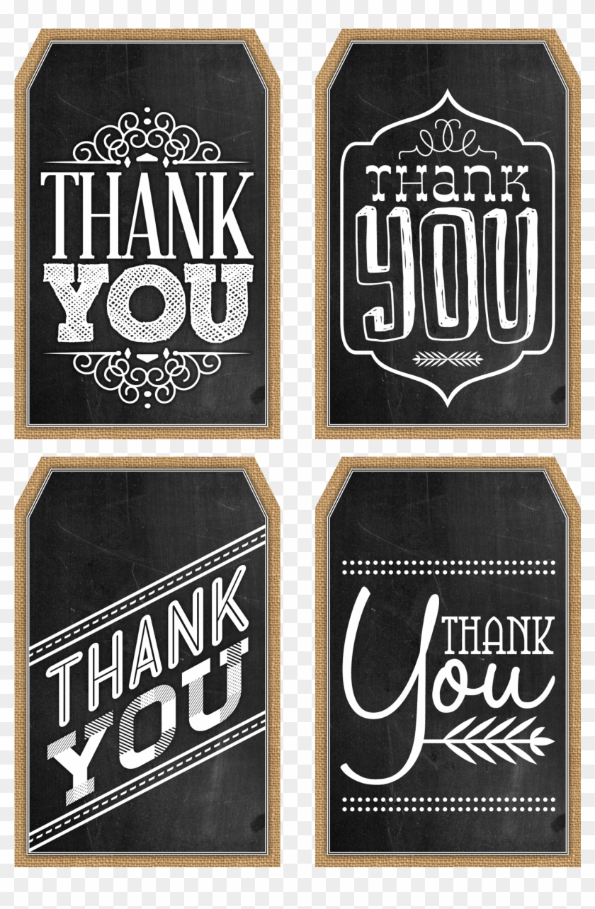 44 Free Printable Gift Tag Templates Printable Black And White Thank You Tags Hd Png Download 2400x3000 388737 Pngfind