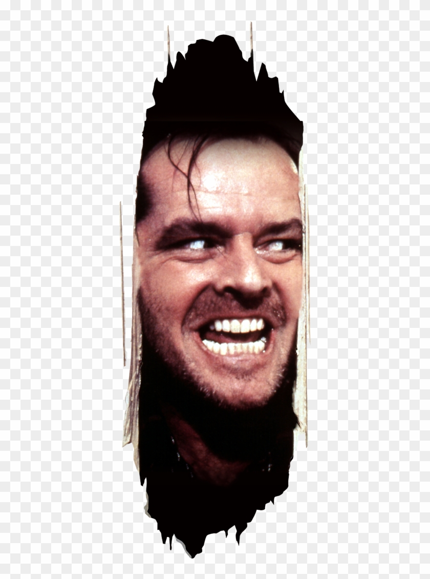 The Shining Wall Sticker Jack All Work No Play Hd Png