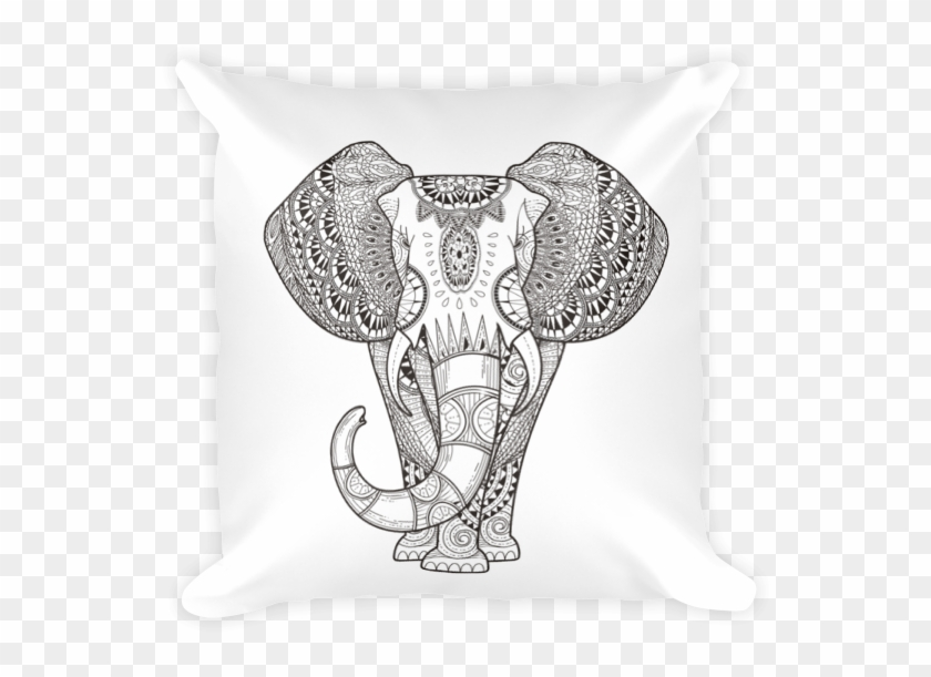 Henna Elephant Square Pillow Coloring Sheet Elephant Mandala Hd Png Download 600x600 3813726 Pngfind .elephant mandala png, png download is pure and creative png image uploaded by designer. coloring sheet elephant mandala hd png