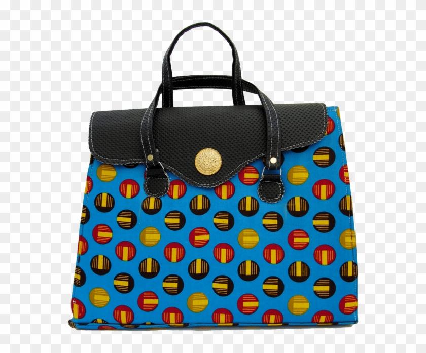 b33dfc4c6079 Authentic Handmade African Print Handbag - Tote Bag, HD Png Download ...