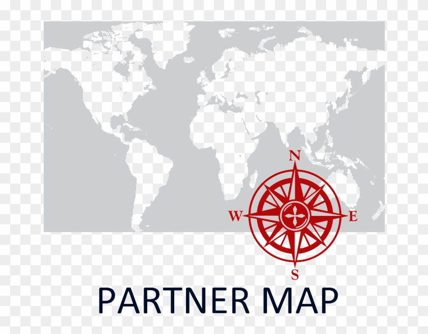 Icon - Map - Icon - Partnership - World Map, HD Png Download ...