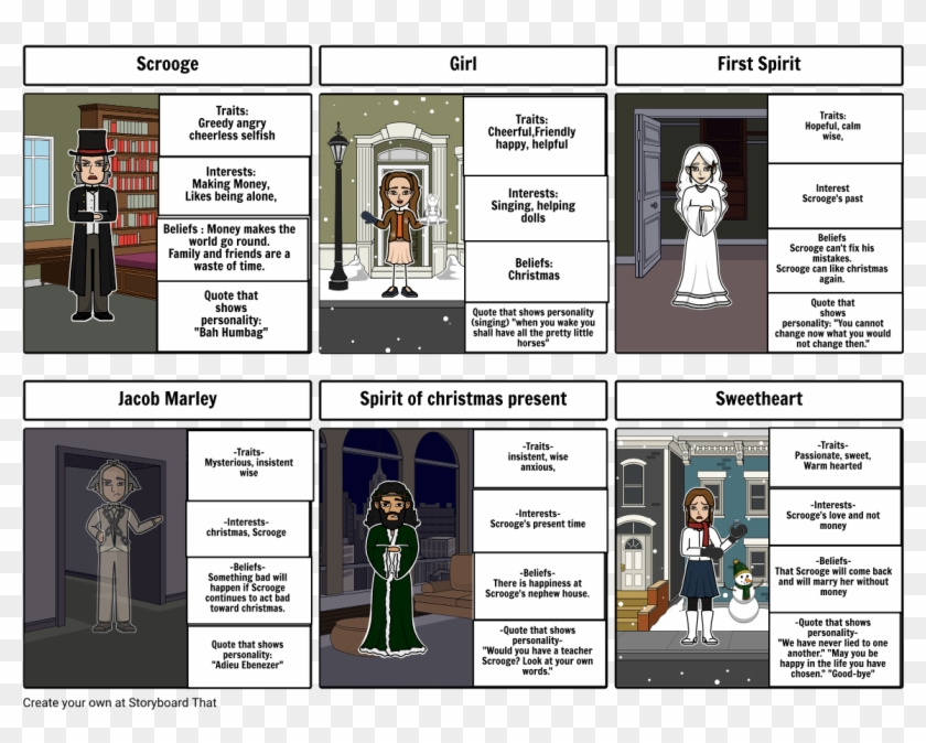 A Christmas Carol Characters.A Christmas Carol Character Map Storyboard By Aleshasteffens