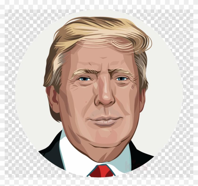 Portret Donald Trump Clipart Donald