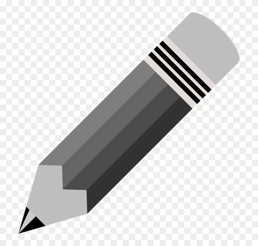 Broken Pencil Black And White Clipart Free Clip Art Thick And Thin Pencil Clipart Hd Png Download 600x600 3832493 Pngfind