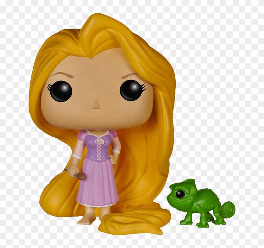 Rapunzel Pascal Vinyl Figure Pop Figures Rapunzel Hd Png Download 660x709 3835146 Pngfind