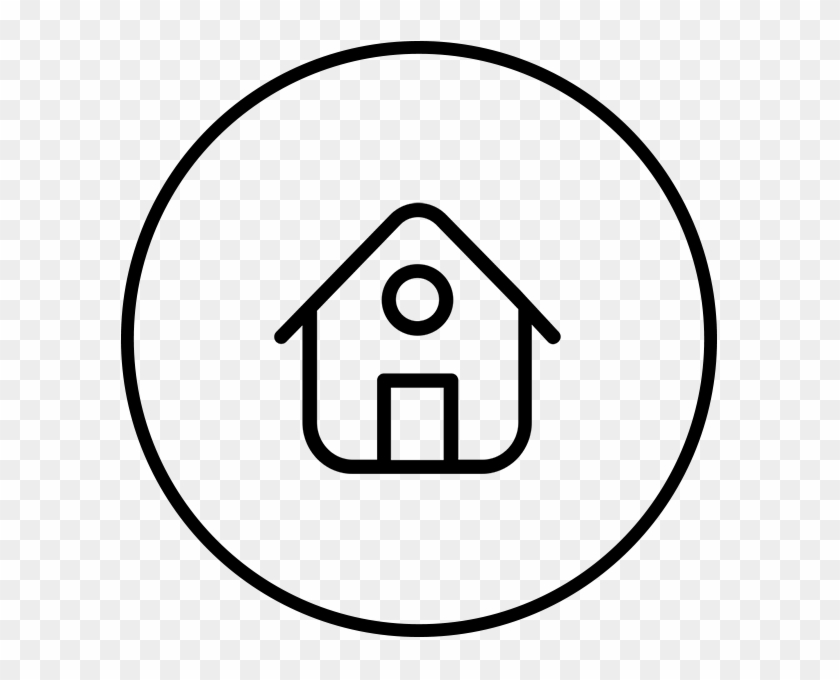 Home Home Circle Png Icon Transparent Png 600x600 3845114 Pngfind