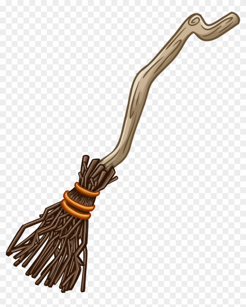 Broom In Png Witch S Broom Transparent Png 852x1024 3845894 Pngfind