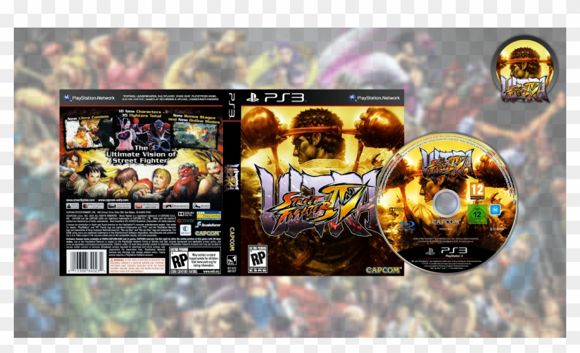 Ultra Street Fighter 4 Usa Japan Ps3 Download Pc Game Hd Png