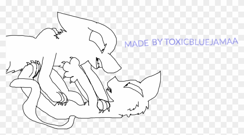 Warrior Cat Coloring Pages Photo Cartoon Hd Png Download