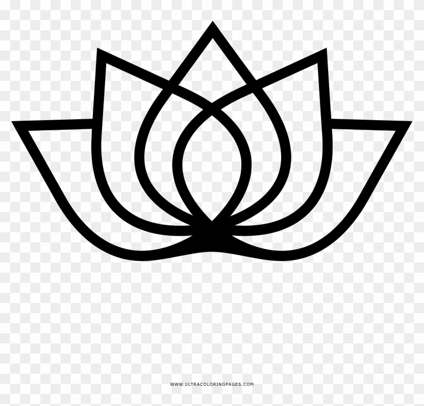 Lotus Flower Coloring Page Nuclear Suppliers Group Logo Hd Png