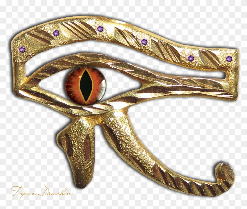 Thoth Dragon Eye - Dragon Eye Left And Right, HD Png