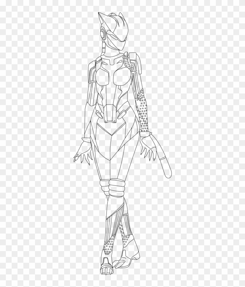 Ninja Fortnite Coloring Page Fortnite Skins Coloring
