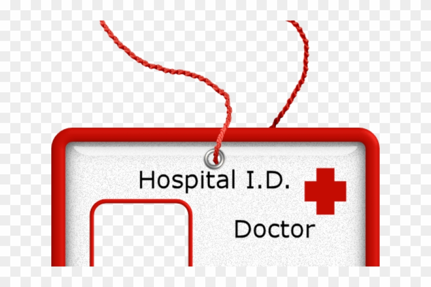 Badges Clipart Hospital - Printable Doctor Name Tag, HD Png