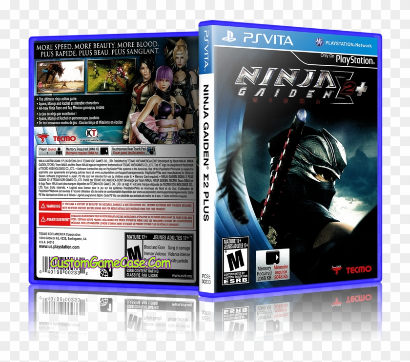 Ninja Gaiden Sigma Plus 2 Sony Playstation Ps Vita Ninja Gaiden