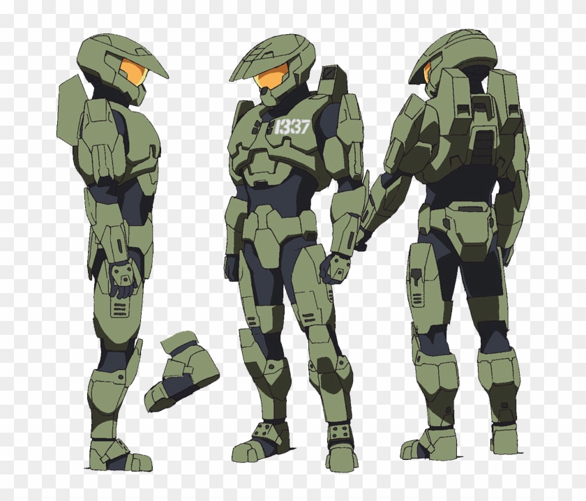 Best Halo Legends Package Armor Hd Png Download 750x720